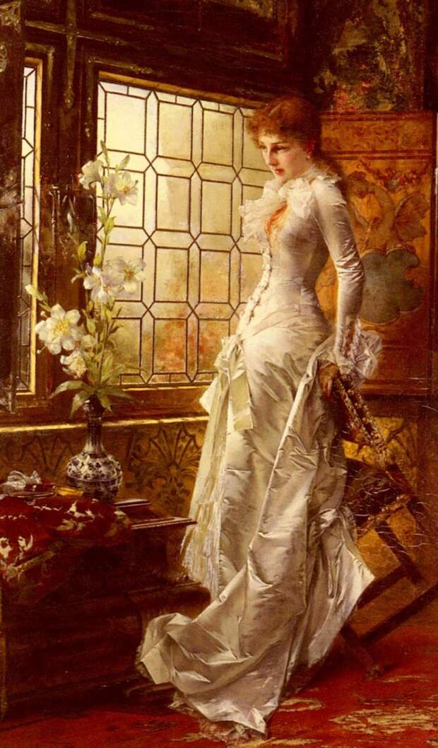 Kiesel Conrad At The Window. Кизель, Конрад
