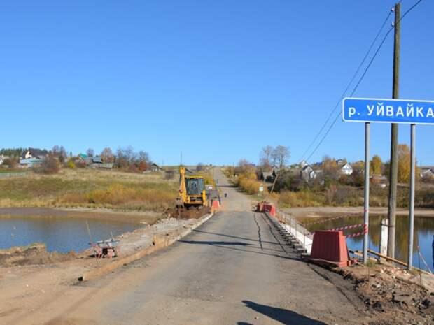 Сельскохозяйственный пруд в Малопургинском районе обмелел из-за ремонта моста