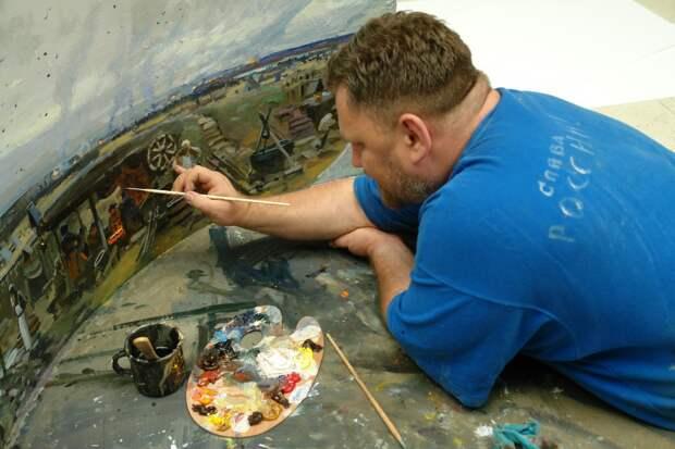 Последний из могикан - художник Павел Рыженко. Две диорамы