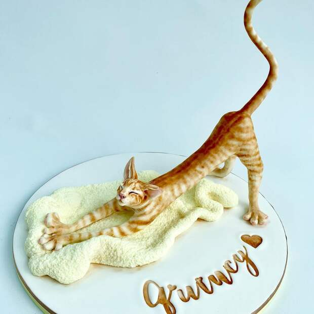 Есть жалко: кондитер покорила Сеть тортами в виде скульптур