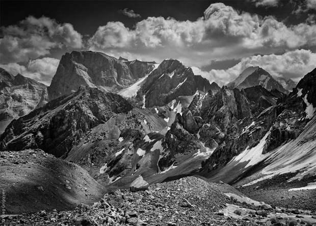 bnwmountains08 Черно белые фотографии гор