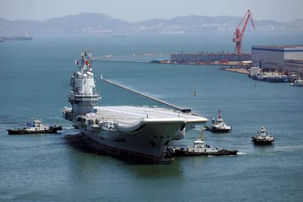 Начался третий этап ходовых испытаний китайского авианосца «Тип-001A»