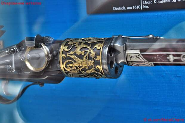 Колесцовый барабанный револьвер императора Матиаша