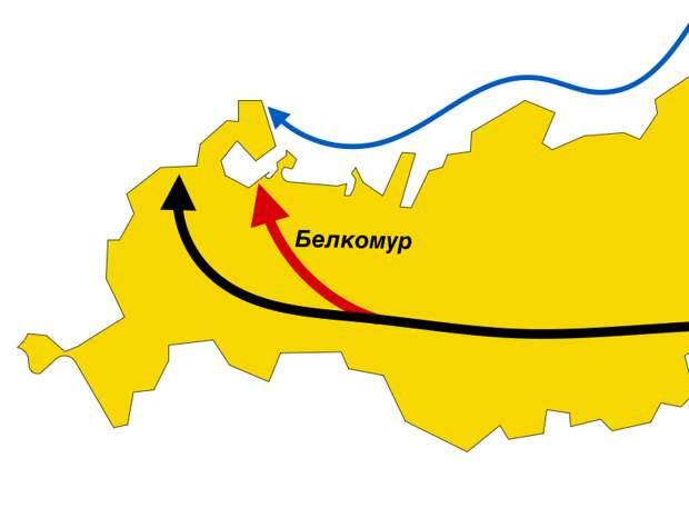 """Зачем нужна дорога """"Белкомур"""", которую Россия собирается строить аж за 278 миллиардов рублей"""
