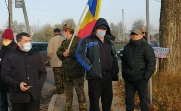 Молдавские радикалы снова мешают голосовать приднестровцам