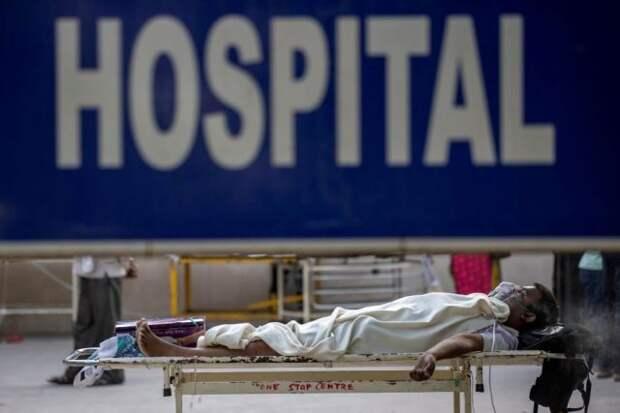 Британия направила в Индию партию медоборудования для борьбы с пандемией