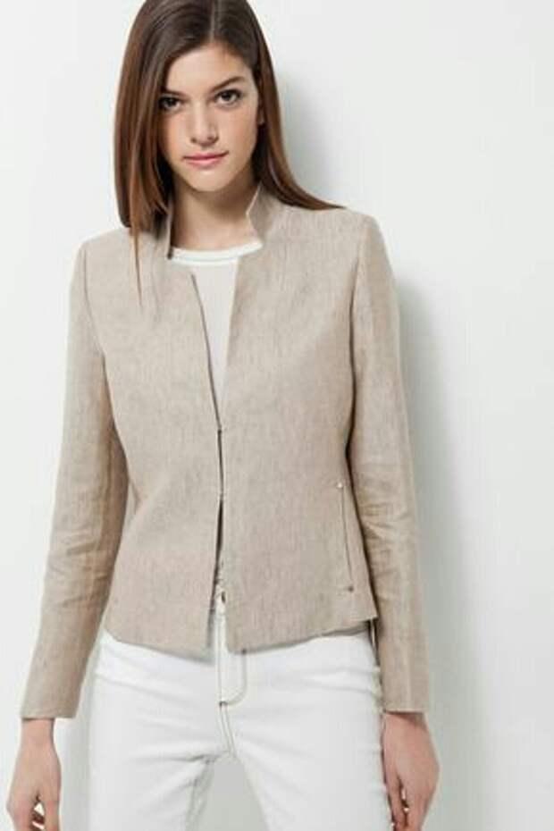 Модные образы этой осени: пиджаки с необычным кроем