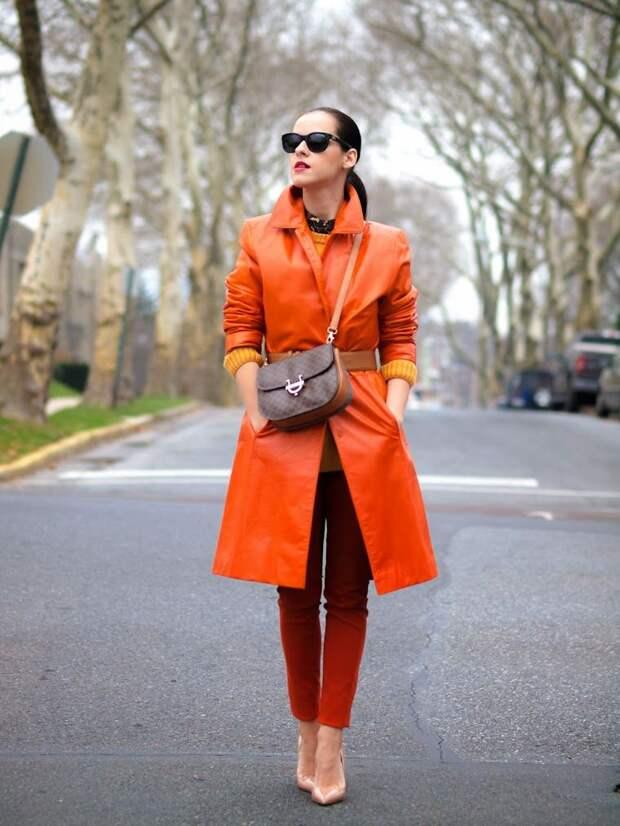 tangerine | Fashion, Trench coats women, 2017 fashion trends