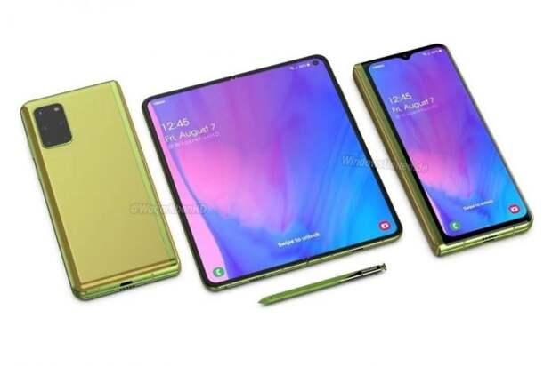 Samsung запустил производство Galaxy Fold 2