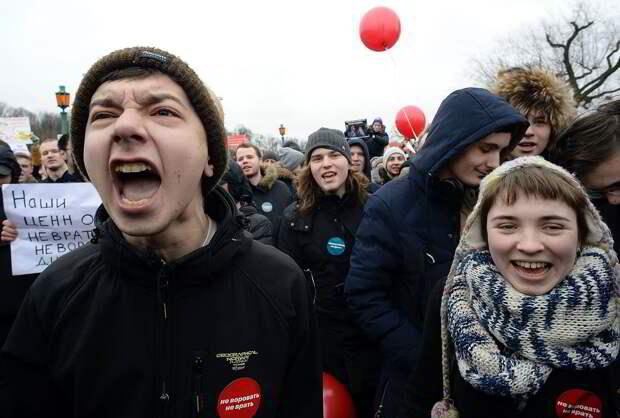 В России пытаются на ровном месте разжечь протесты
