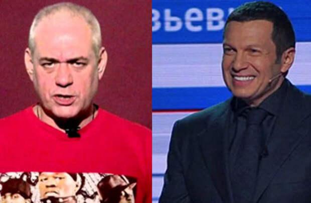 Телеведущий Соловьев назвал журналиста Доренко «нечестным и сломанным человечком»