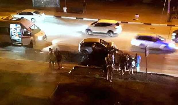 Севастопольцы задержали виновника ДТП и передали его сотрудникам ДПС
