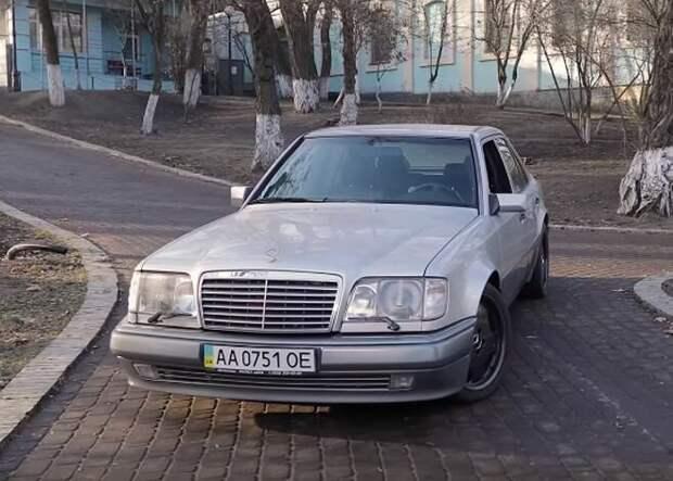 Уникальный «Волчок» Януковича. Возможно единственный в мире Mercedes Benz Е500