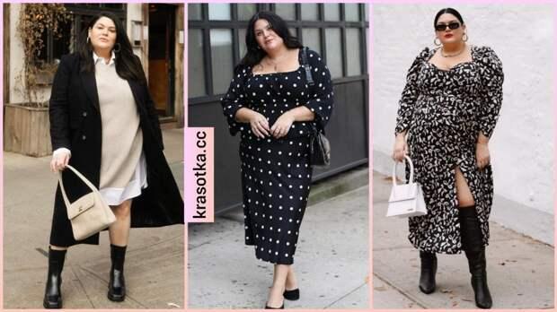 Модные платья для полных женщин осень 2021: фасоны, подчеркивающие достоинства фигуры