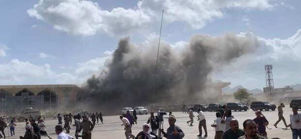 Взрыв в Адене: вот кто нанес ракетный удар по аэропорту Йемена