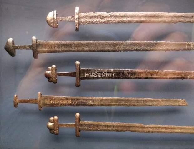 Таинственные мечи викингов сделаны с применением технологии будущего