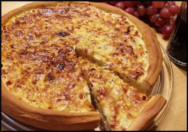 ШВАБСКИЙ луковый пирог — тот случай, когда ЛУК вкуснее мяса