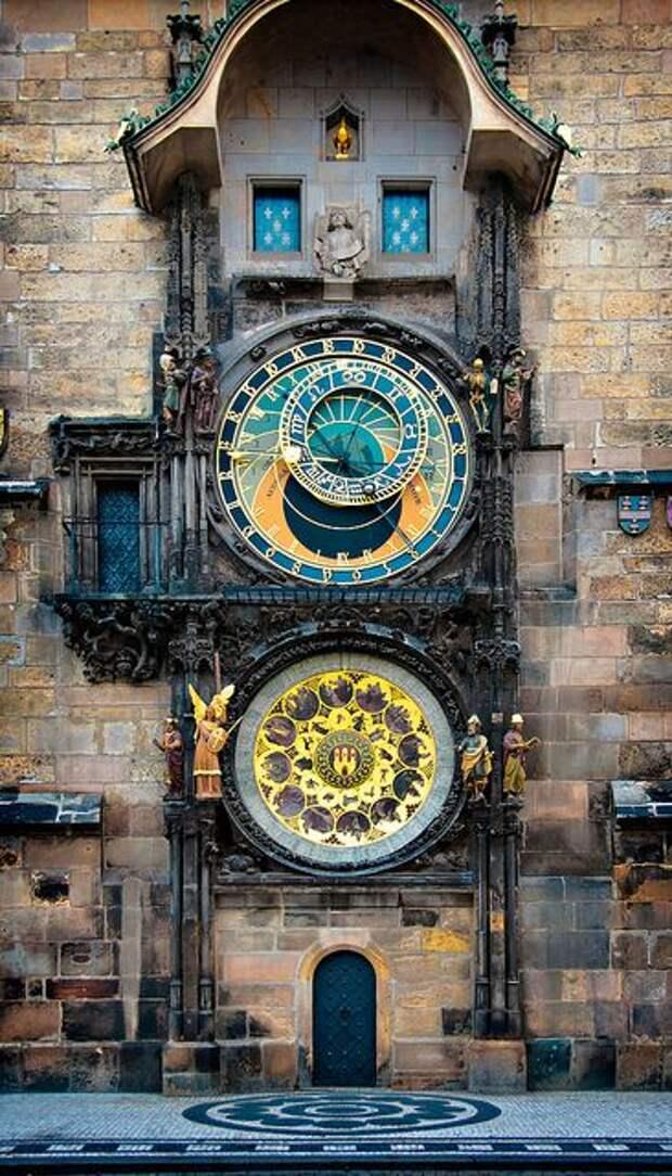 Астрономические часы на русских часовнях