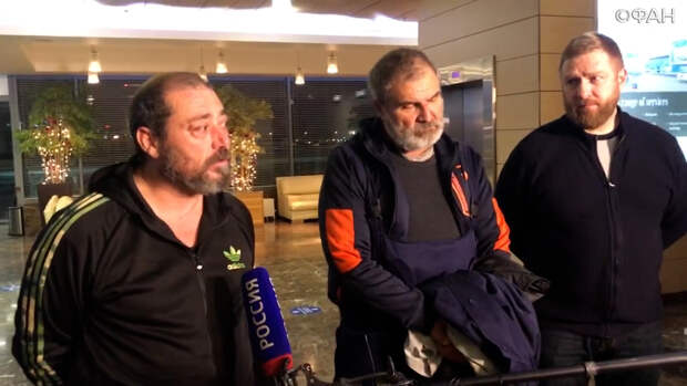 Освобожденные из ливийского плена россияне дали интервью. ФАН-ТВ