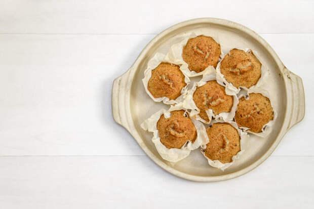 Ароматные диетические кексы с тыквой