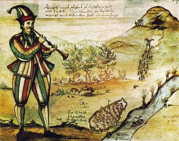 Гамельнский крысолов: откуда пошла легенда