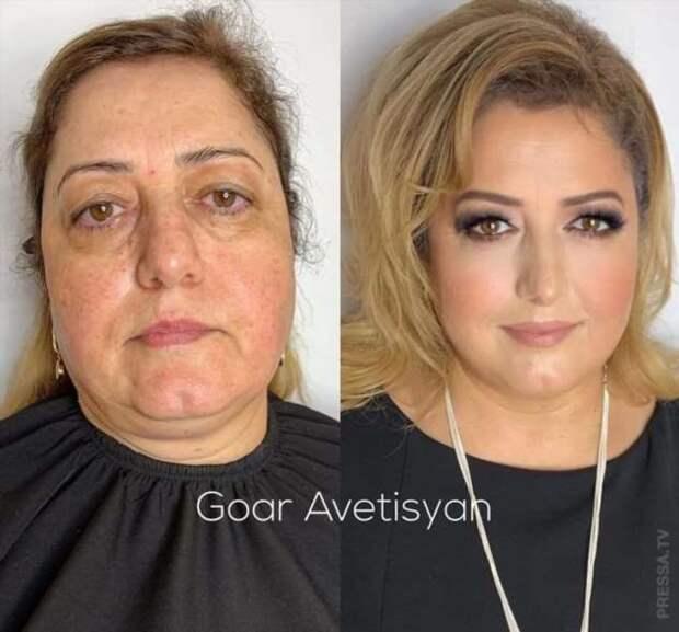 Чудо-макияж превращает любую женщину в красавицу
