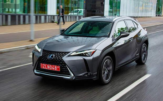 Новый кроссовер Lexus UX — самый первый тест-драйв