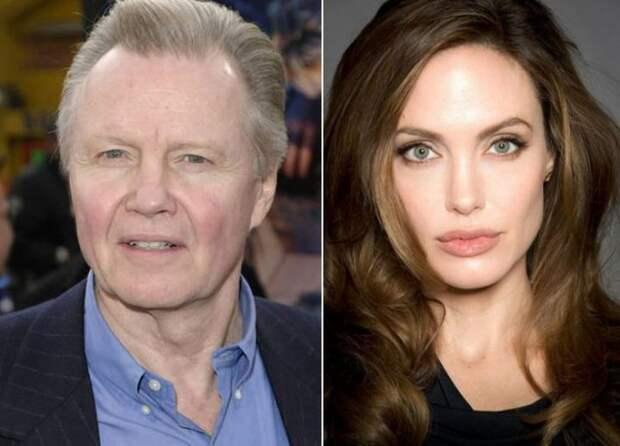 7 место. Джон Войт и Анджелина Джоли (Jon Voight, Angelina Jolie). дочь, знаменитость, отец