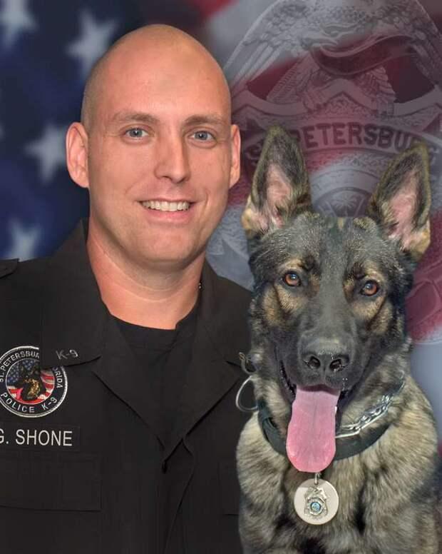 полицейский и пес