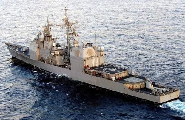 У побережья США столкнулись два военных корабля