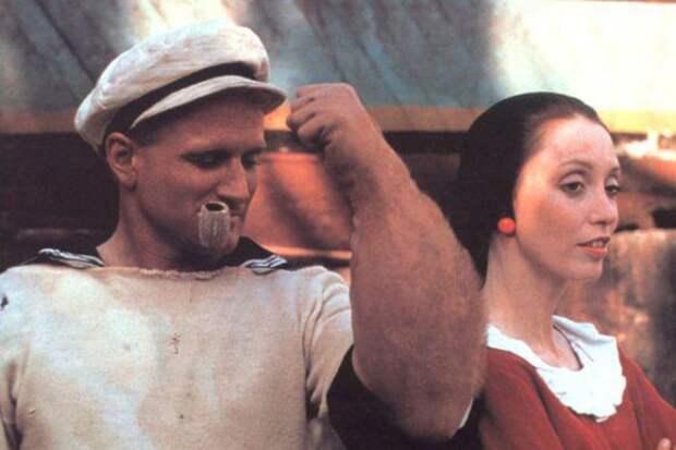 Робин Уильямс в фильме *Попай*, 1980 | Фото: 24smi.org