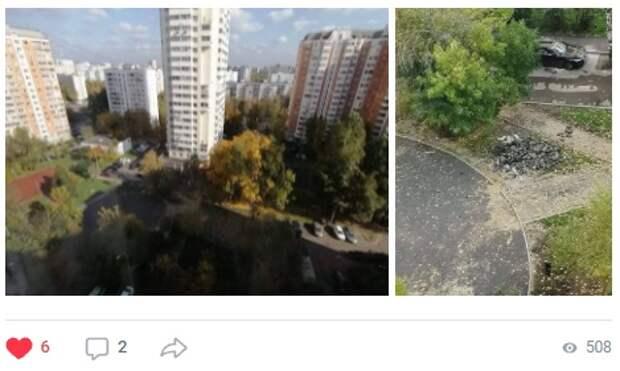 Игровые площадки во дворе на Шокальского восстановят до конца октября