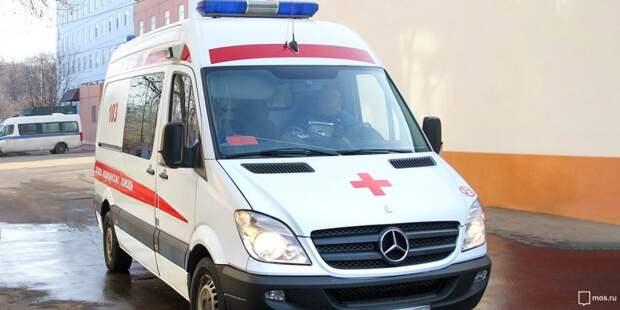 Пострадавшего в аварии на Петрозаводской пешехода доставили в больницу