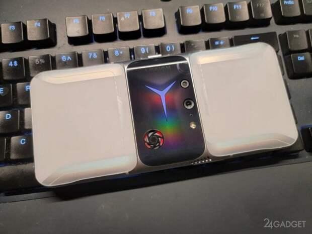 Опубликованы реальные снимки геймерского смартфона Lenovo Legion 2 Pro