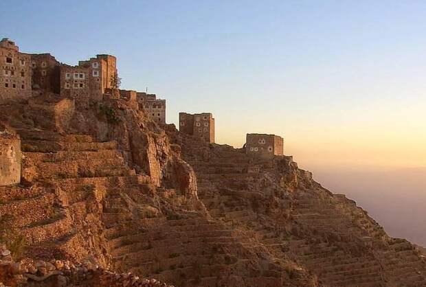 Вид на деревню Шехара
