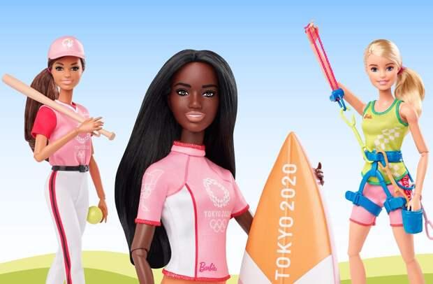 Олимпийских кукол Барби предложили бойкотировать в соцсетях за расизм