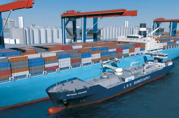 Sembcorp, ABS и IHPC взялись перевести мировой флот на СПГ-топливо