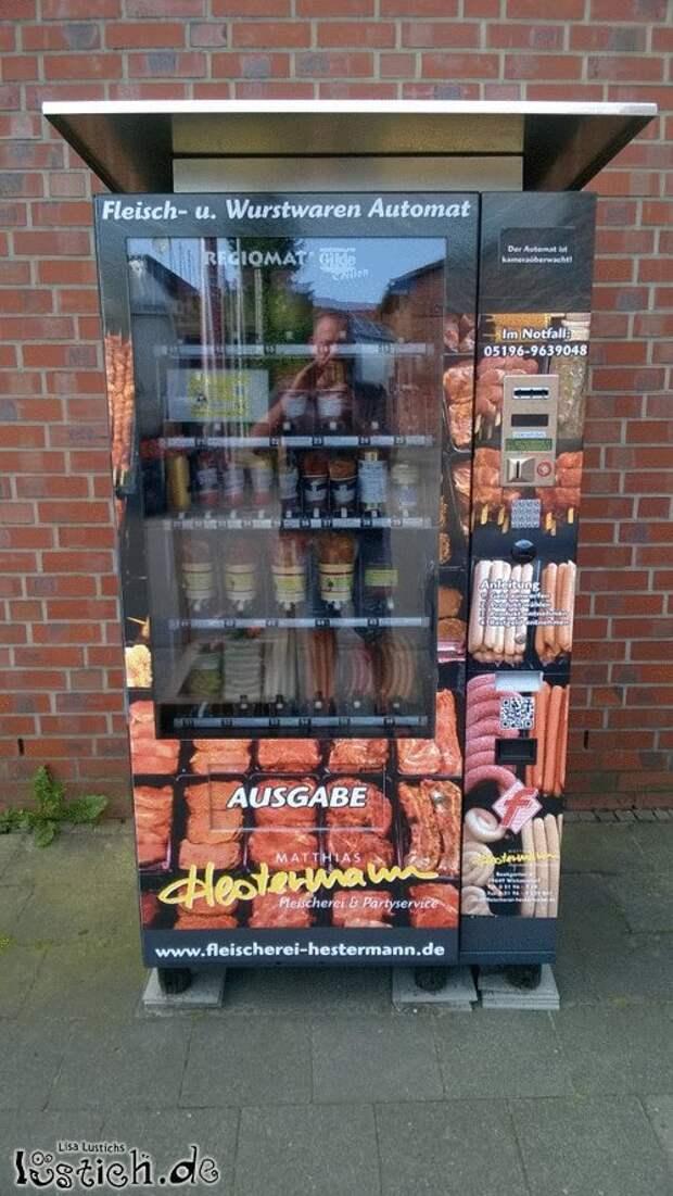 Немецкий сосимат забавности, концептуально, околомясные продукты, прикол, сардельки, сосиски, юмор