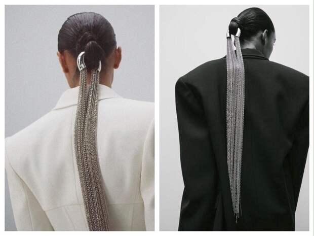 аксесссуары для волос с элементом цепей