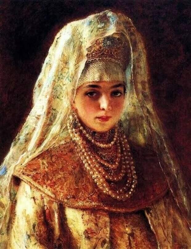 Соломония Сабурова, предполагаемый портрет. Фото из открытого источника.