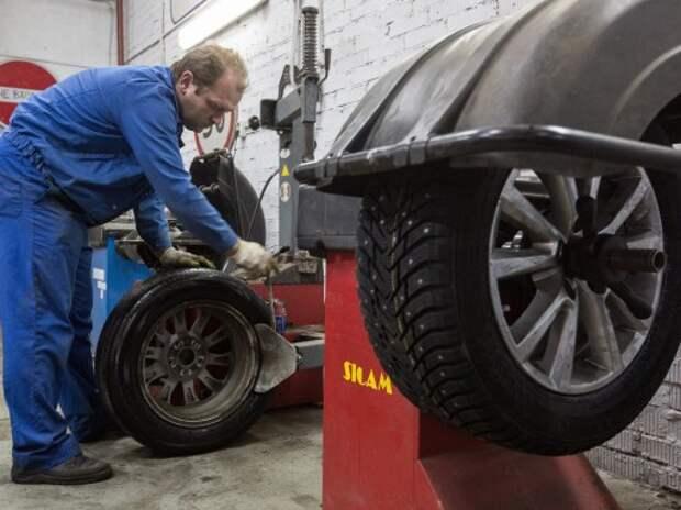 За использование шин не по сезону предложено штрафовать на 10 тысяч