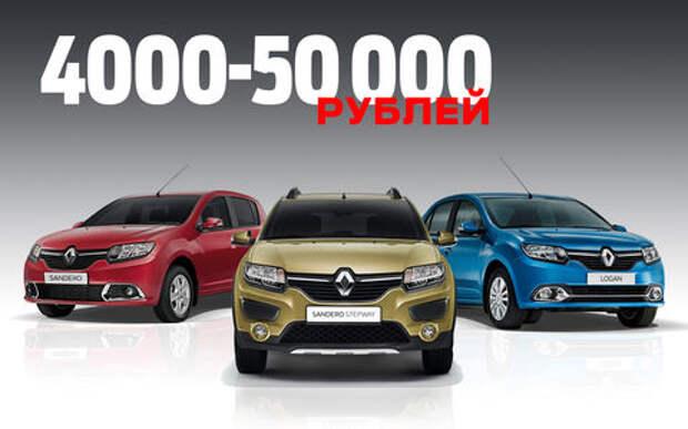 Renault увеличила цены на все модели в России