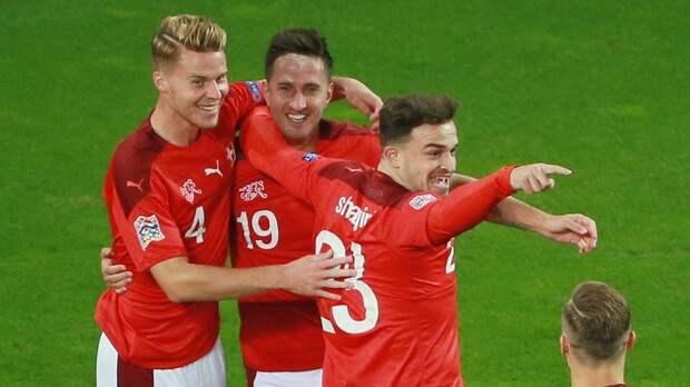 Сборная Турции пропустила гол от швейцарцев на шестой минуте