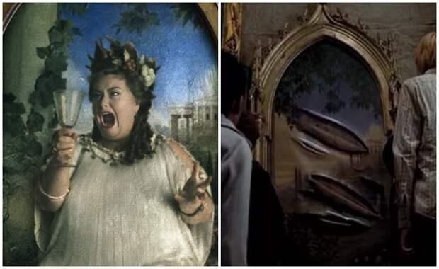 Кем была Полная Дама с портрета из истории о Гарри Поттере: Загадочный образ в книгах и в кино