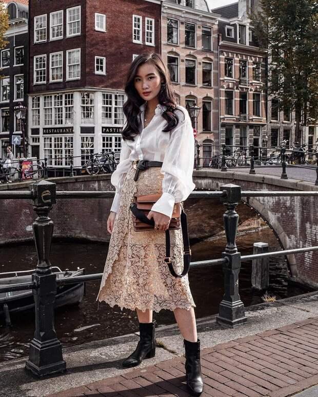 Street Style  модные осенние образы
