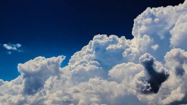 облака на фото