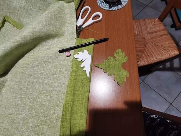 Текстильные тыковки как упаковка подарка: мастер-класс
