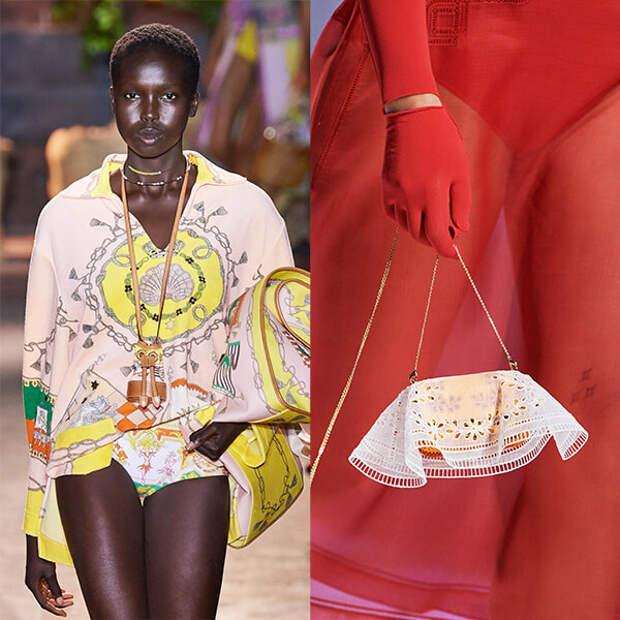 Сумка в качестве украшения – забавная ювелирная идея от Chanel, Jacquemus и Fendi