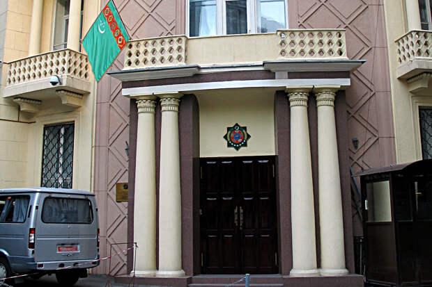 Тело полицейского обнаружено у посольства Туркмении в Москве