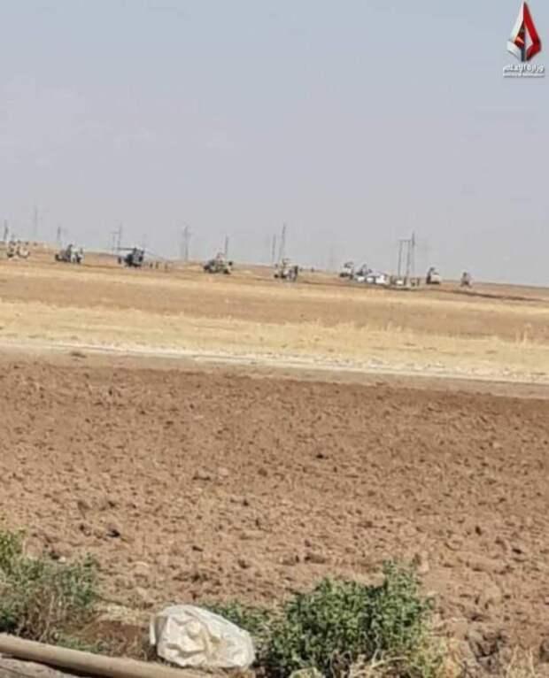 Два вертолета ВС США следили за российскими военными в Сирии